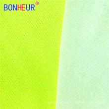 Tecido de algodão impermeável durável HV EN20471 poliéster