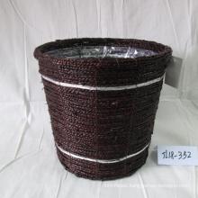 Coffee Sea Grass Flower Pot