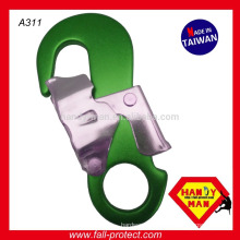 Aluminum Alloy Double Action Stamped Carabiner Snap Hook