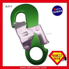 Liga de alumínio Double Action Carimbado Carabiner Snap Hook