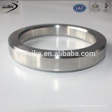 Acier au carbone R24 Oval Ring Joint Joint Blanc Zinc plaqué