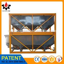 SDDOM planta de hormigón apilable Horizontal Silo de cemento para la construcción en venta