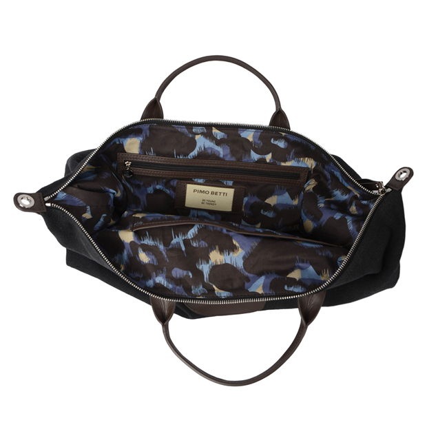 large canvas leather holdall duffle duffel bag travel bag