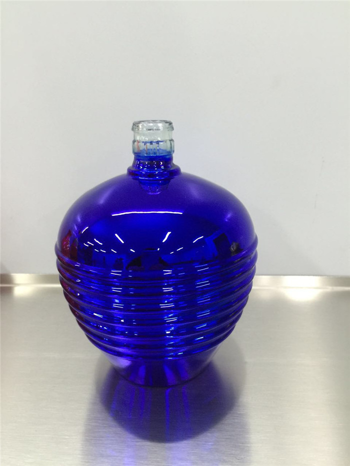 vacuum metallizing coating glass bottle