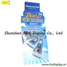 Cartelera de la exhibición de la cartulina de las ventas calientes de Super Markets con el SGS (B & C-E011)