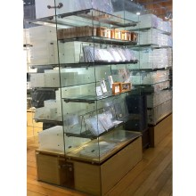 Glass Shelving System for Store