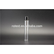 flat bottom glass test tube with screw cap