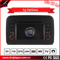 Hualingan 2 DIN Car DVD Player pour FIAT Croma Navigation GPS avec Bluetooth / Radio / RDS / TV / Can Bus / USB / iPod / HD Fonction écran tactile