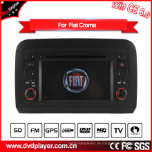 Hualingan 2 DIN Auto DVD Spieler für FIAT Croma GPS Navigation mit Bluetooth / Radio / RDS / TV / Can Bus / USB / iPod / HD Touchscreen Funktion