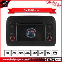 Автомобильный DVD-плеер Hualingan 2 DIN для FIAT Croma GPS-навигации с Bluetooth / Радио / RDS / TV / Can Bus / USB / iPod / HD Сенсорный экран Функция
