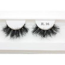 Z6CF21 Hitomi Mink Eyelash Custom Box wholesale price mink eyelash Fluffy real 21mm mink eyelashes