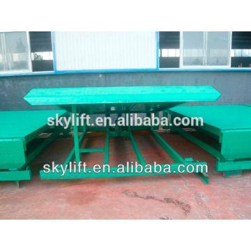 8 t Warehouse stationary hydraulic cylinder dock leveler