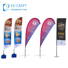 Wholesale custom fabric digital sublimation printing display stand flex banner for promotion