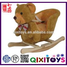 Hot sale children toy plush rocking horse