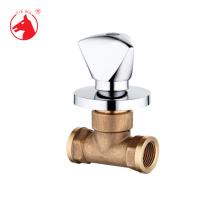Латунный двухходовой скрытый клапан одобрения ISO9001