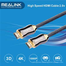 Ultra High Speed ​​4k HDMI 2.0 Kabel mit Ethernet Audio Return 4k * 2k