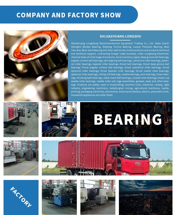 Long life treadmill cylindrical roller bearing for machine