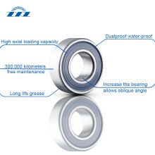 High seal drive shaft axle bearings