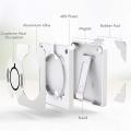 Support de téléphone portable avec chargeur sans fil avec stockage de câbles