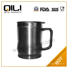 Small office coffee mug with handle