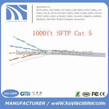 1000FT 4pairs Cat5 Сетевой SFTP-кабель