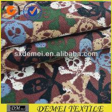 bedruckte Textil Stoff Schädel Baumwolle polyester