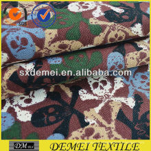 textile imprimé tissu crâne coton polyester