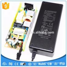 Nivel 6 FCC GS SAA RCM NOM UL YHY-12010000 adaptador de corriente alterna de 12v AC-dc precio de fuente de alimentación de corriente continua 10A 120W