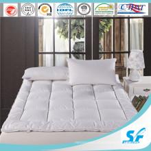 Impermeável para baixo pluma preencher colchão topper colchão de colchão da cama