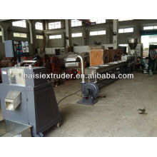 CE waste plastic bags/bottle recycled extruder