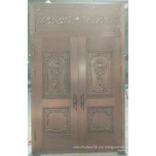 Puerta de acero de seguridad de alta calidad de lujo