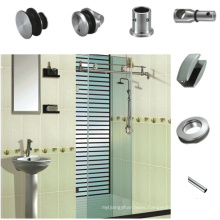 180 degree glass sliding door system with high quality fitting