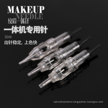 Special needle for professional makeup machine