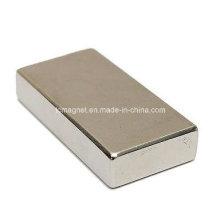 Супер сильная полоска блока Кубический магнит Редкоземельные элементы марки N35 Неодим 50X25X10mm
