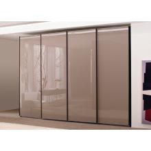 Porte coulissante moderne Wadrobe Closet pour la conception de chambre à coucher