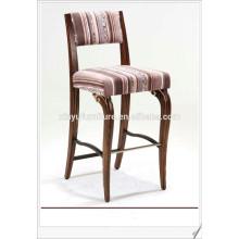 Unique design solid wood bar stool XY3109