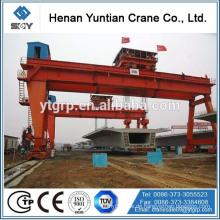 China Berühmte Marke Henan Yuntin MG / ein vorbildlicher doppelter Träger-Haken-Portalkran
