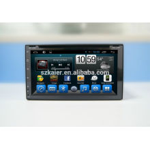 GPS, DVD, radio, bluetooth, 3g / 4g, wifi, SWC, OBD, IPOD, Mirror-link, TV para universal