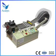 Máquina de corte de la correa tejida de nylon de los PP con el cuchillo frío caliente