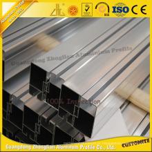 Extrusão de alumínio anodizada / pó revestido para a porta deslizante de alumínio