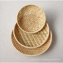 Бамбуковая корзинка высокого качества ручной работы (BC-NB1023)