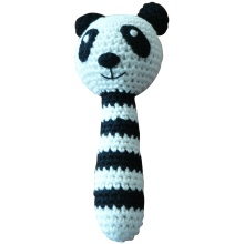 Hand Crocheted Rattle Amigurumi Baby Toy Baby Soft Nursery Shower