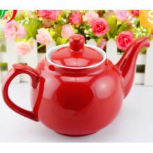 Big Capacity Colorful Design SGS Certificate Pot de thé en céramique