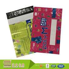 Eco-friendly gravure printing custom poly envelopes plastic colorful mailing bags