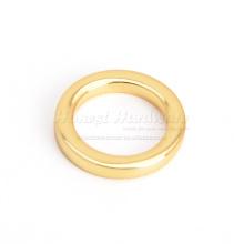 Плоское круглое кольцо для сумочки