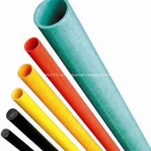 Высокопрочная прочная пултрузионная стеклопластиковая круглая трубка