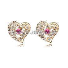 Boucles d'oreilles en gros et bon marché fabriquées en Chine