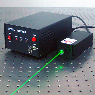 532nm Single Longitudinal Green Laser für Raman