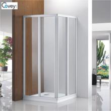 6mm Glasdicke Weiß Sauna Raum- / Duschabtrennung (3-Cvs047-W)