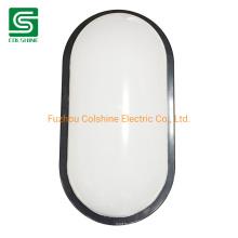 15W Oval LED Bulkhead Light Fitting Outdoor Wall LED Light